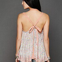 Free People Clothing Boutique > FP ONE Happy Blossoms Dip Dye Tank