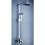 LightInTheBox Contemporary 8 &quot;Shower Head and Hand Shower Tub Shower Faucet Set with Slide Bar,Chrome