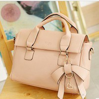 perfect dimensional bow handbag