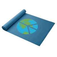 Eco Friendly Yoga Mat - Peace On Earth - Gaiam