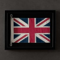 Framed Flag of United Kingdom | Framed Objects | Restoration Hardware
