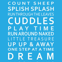 Sleep Tight Poster A3 297 x 420cm  117 x 165in by GraceHawk