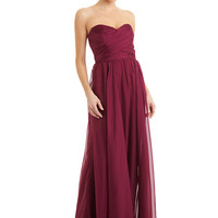 ideeli | BADGLEY MISCHKA Gathered Bodice Gown