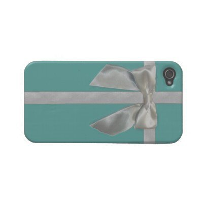 blue ribbon Iphone 4S case Case-mate Iphone 4 Cases from Zazzle.com
