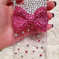 Pink Bow Iphone 4,4s Case, Pearl Ip.. on Luulla