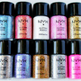 10 NYX Glitter Powder FU...