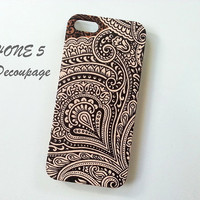 Thai Pattern - iPhone 5 Case , Case for iPhone 5 , iPhone Case , Floral iPhone Case