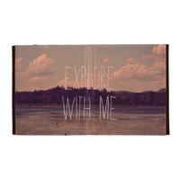 Explore with Me iPad Case from Zazzle.com