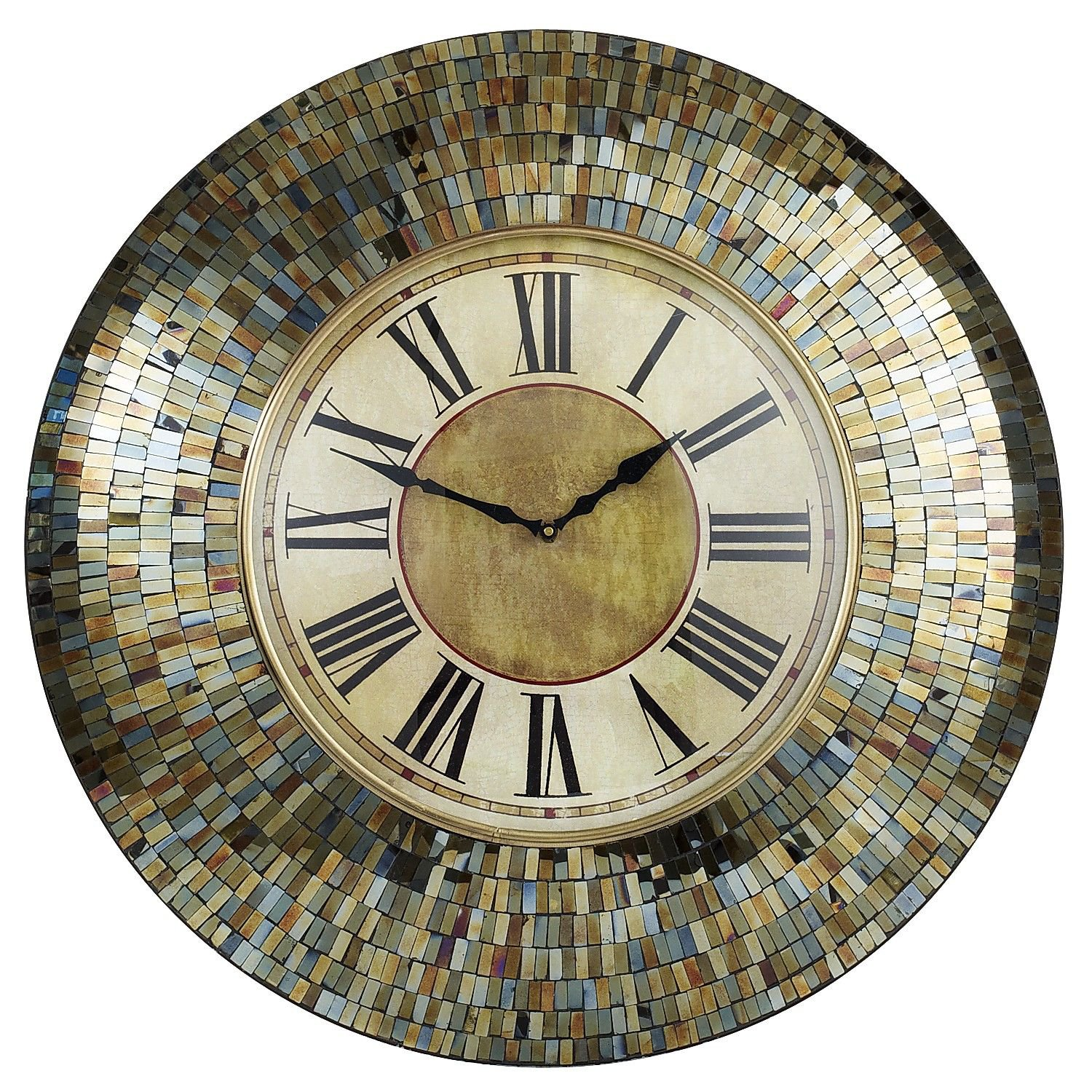 Amber Mosaic Clock from Pier 1 imports