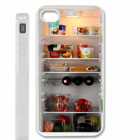 Inside my fridge iPhone 4 / 4S, iPhone 5 case, Samsung S2 / S3 Case - Black / White
