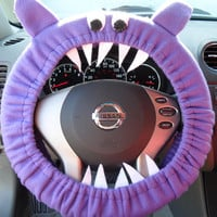 Purple GENUINE Monster Steering Wheel Cover