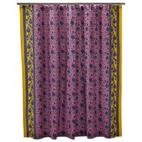 Boho Boutique™ Petunia Agyness Shower Curtain - 72x72""