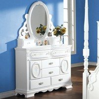 Flora Door 8-Drawer Dresser - Dressers at Hayneedle