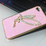 Shiny Sparking Little Angel Rhinestone  Hard Cover Case For Iphone 4/4s/5