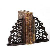 cast iron book ends by la vie en rose | notonthehighstreet.com