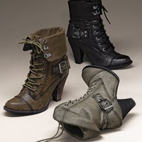 Lace-up Bootie - Not Rated - Victoria's Secret