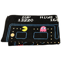 ThinkGeek :: Pac-Man Fleece Blanket