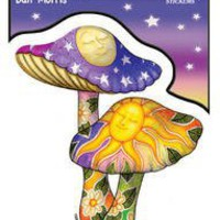Dan Morris - Mushrooms -Sticker / Decal