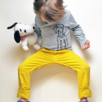 Puppy Toddler Tee Long Sleeve by KLTworks on Etsy