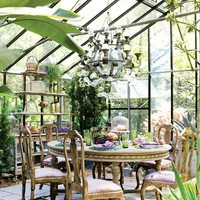 a quiet conservatory