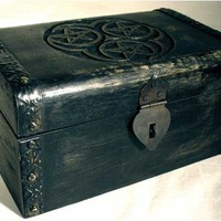 Treasure Chest Hecate Triple Pentagram