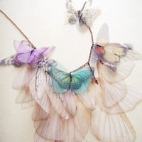 Simply Butterfly Necklace  made to order by jewelera on Etsy