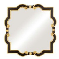 One Kings Lane - Wall Decor Picks - Mirror Image Decorative Scroll Mirror