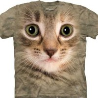 Amazon.com: Kitten Face Men's Tan Tee: Clothing