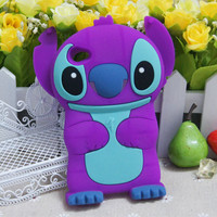 Purple 3D Stitch Silicon...