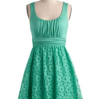 Peppermint Iced Tea Dress | Mod Retro Vintage Dresses | ModCloth.com