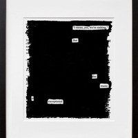 20x200 | Overheard on the Titanic, by Austin Kleon