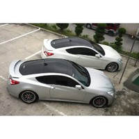 Gloss BLACK VINYL ROOF overlay decal car wrap 4ftx6ft : Amazon.com : Automotive