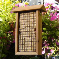 Hanging Bird Feeder from Remilled Reclaimed by andrewsreclaimed