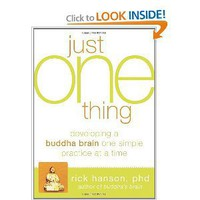 Just One Thing: Developing A Buddha Brain One Simple Practice at a Time [Paperback]