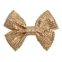Rhinestone Bow Hair Clip | Shop Accessories at Wet Seal