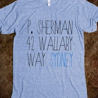 P. Sherman 42 Wallaby Way, Sydney - plain 'ole tees