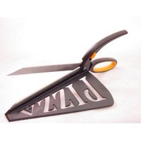 Amazon.com: PIZZA SCISSORS / SPATULA - CUT n SERVE Stainless Steel: Kitchen & Dining