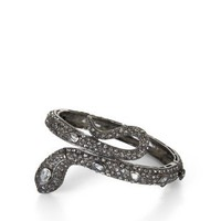 BCBGMAXAZRIA - ACCESSORIES: JEWELRY: VIEW ALL: RHINESTONE SNAKE BANGLE