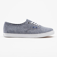 Chambray Stripes Authentic Lo Pro