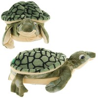 Green Sea Turtle Slippers for Kids, Women and Men