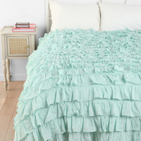 Urban Outfitters - Waterfall Ruffle Duvet Cover