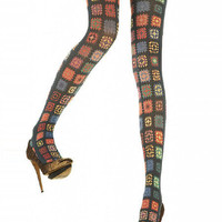 Peek Brooklyn - House of Holland Crochet Tights Stockings, tights, hold-ups and leggings