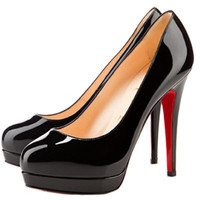 Christian Louboutin Alti 140mm Black Pumps [2011123003] - $176.00 : Christian Louboutin Shoes Sale, Enjoy 77% Off On Designer Outlet