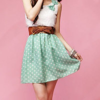 Polka Dot Sweet Lovely Mini Dress