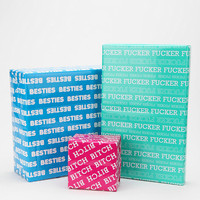 Urban Outfitters - Word Fun Wrapping Paper