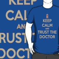 Keep calm and trust the doctor by Niden