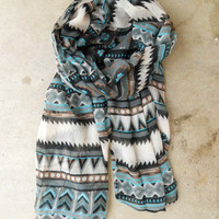 Native Rivers Scarf [3333] - $16.00 : Vintage Inspired Clothing & Affordable Fall Frocks, deloom | Modern. Vintage. Crafted.