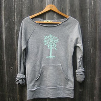 little seedling Tree Sweatshirt, super soft, S,M,L,XL