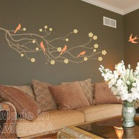 Wall Decal Cherry Blossom by ChuckEByrdWallDecals
