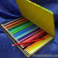Fantasia Set of 36 Colored Pencils in a Metal Tin